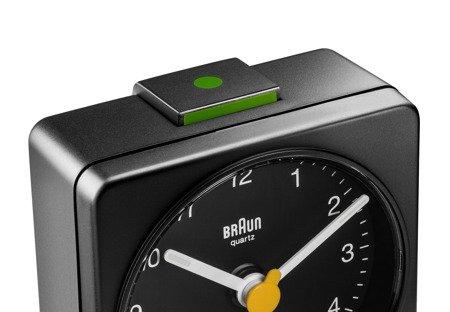 Budzik BRAUN alarm neobrite mały 6 cm BC02B
