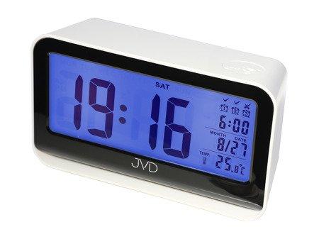 Budzik JVD 3 alarmy  termometr czujnik natężenia oświetlenia SB130.3