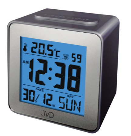 Budzik JVD STEROWANY RADIOWO termometr RB9234.1