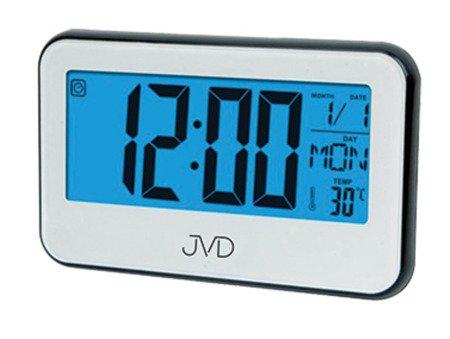 Budzik JVD temp. kalendarz timer 15,5 cm SB5815.2