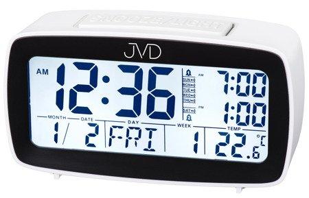 Budzik JVD termometr 7 KALENDARZ kalendarz SB82.4