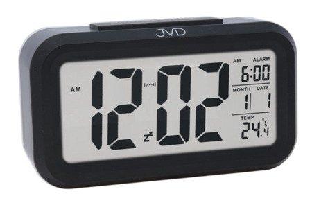 Budzik JVD termometr SENSOR LIGHT SB18.3