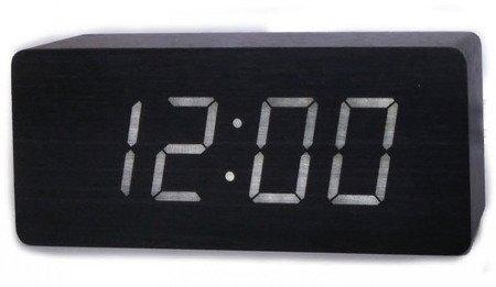 Budzik Xonix sieciowy 3 alarmy GHY-006YK BK WH