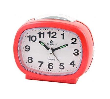 Budzik czerwony podświetlenie alarm narastający średni A713 C2 Red