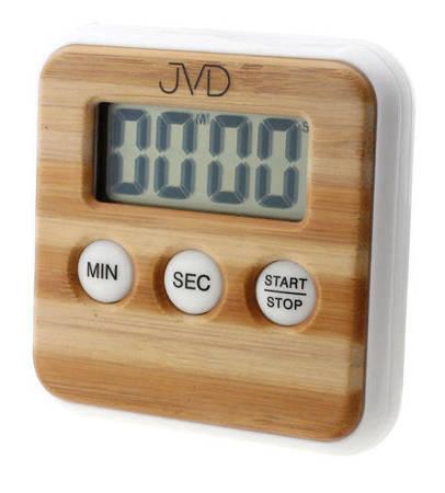 Minutnik stoper JVD magnes imitacja drewna DM231
