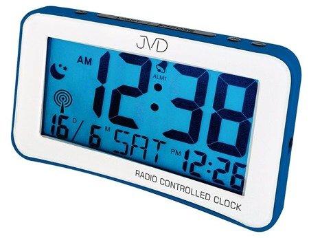 Zegar/Budzik JVD STEROWANY RADIOWO 2 alarm RB860.2