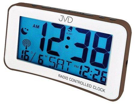 Zegar/Budzik JVD STEROWANY RADIOWO 2 alarm RB860.4
