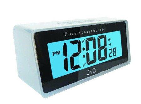 Zegar/Budzik JVD STEROWANY RADIOWO 2 alarmy RB42