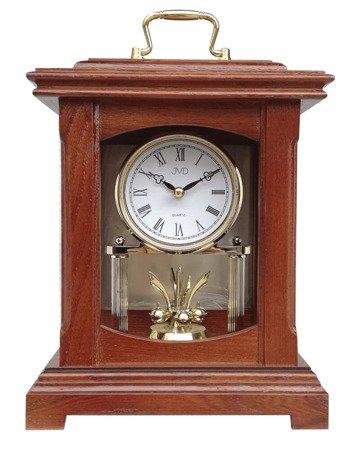 Zegar JVD drewniany KOMINKOWY z wahadłem HS3007.1