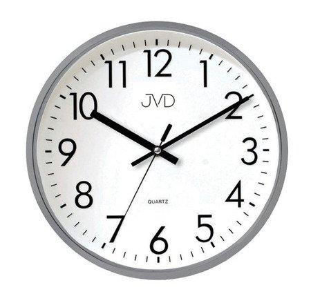 Zegar JVD ścienny 32 cm CICHY nowoczesny HA43.2