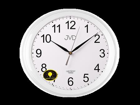 Zegar JVD ścienny CICHY SENSOR LIGHT  HP663.13