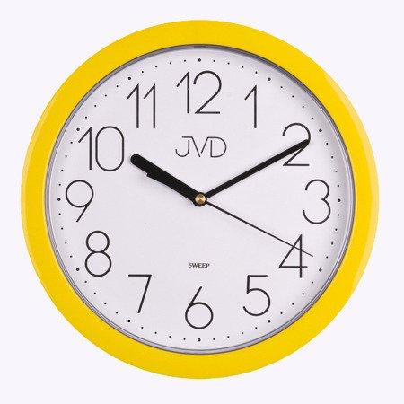 Zegar JVD ścienny CICHY czytelny HP612.12