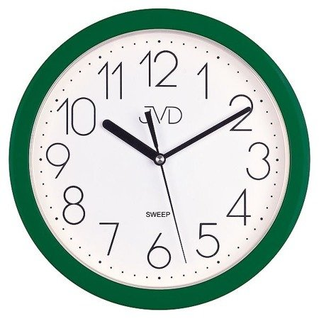 Zegar JVD ścienny CICHY czytelny HP612.13