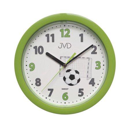 Zegar JVD ścienny CICHY piłka HP612.D4