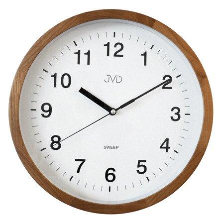 Zegar JVD ścienny DREWNIANY 30 cm NS19019.11