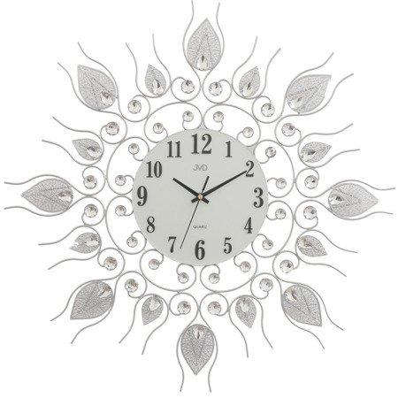 Zegar JVD ścienny DUŻY 60 cm KRYSZTAŁY HJ91.1