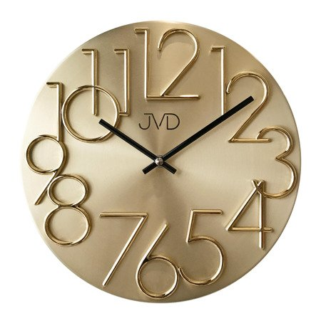 Zegar JVD ścienny METAL nowoczesny 30 cm HT23.2