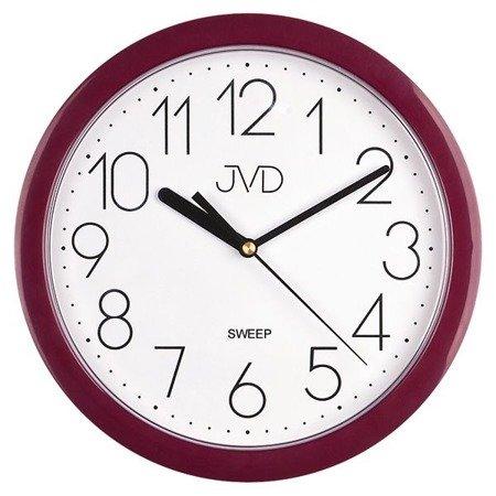 Zegar JVD ścienny klasyczny CICHY HP612.10