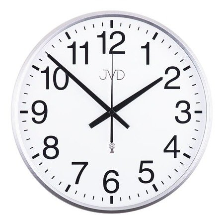 Zegar JVD ścienny STEROWANY RADIOWO 30 cm RH684.1
