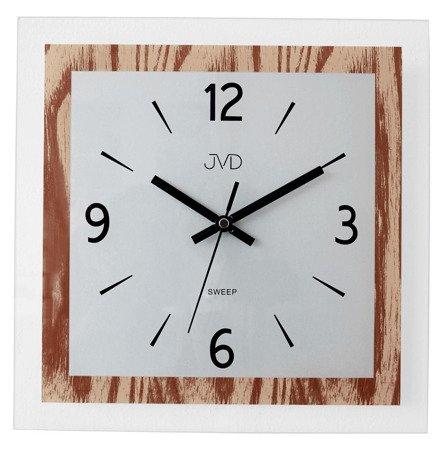 Zegar JVD ścienny SZKLANY 30 cm NS19032.1