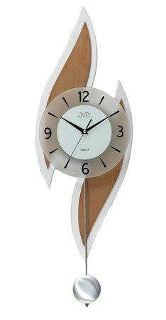 Zegar JVD ścienny WAHADŁO drewno 76 cm NS18051.41