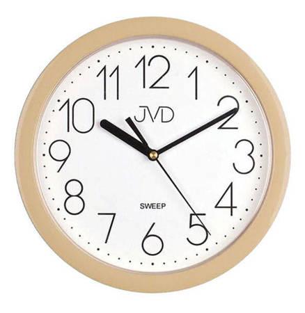 Zegar JVD ścienny czytelny CICHY HP612.15