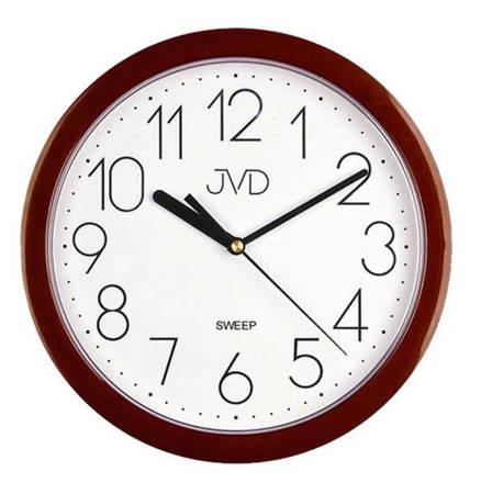 Zegar JVD ścienny czytelny CICHY HP612.16