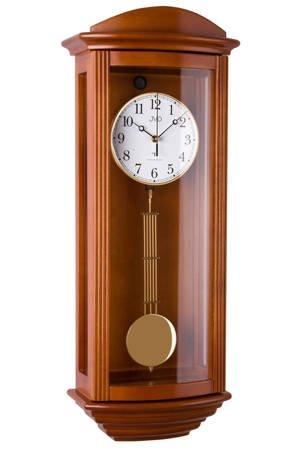 Zegar JVD ścienny drewno DCF77 KURANTY NR2220.41