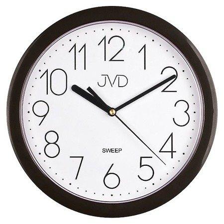 Zegar JVD ścienny klasyczny CICHY czytelny HP612.3