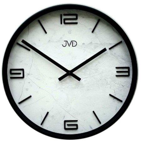 Zegar JVD ścienny nowoczesny marmur HC21.2