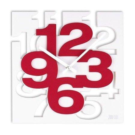 Zegar JVD ścienny nowoczesny przestrzenny 3D H106.2