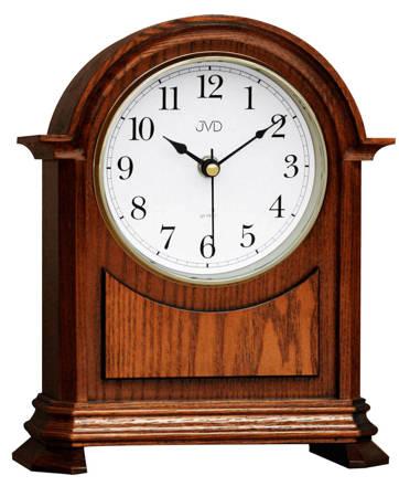 Zegar JVD stojący kominkowy drewniany z kurantami HS12.2
