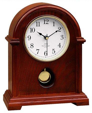 Zegar JVD stojący kominkowy drewniany z kurantami HS13.3