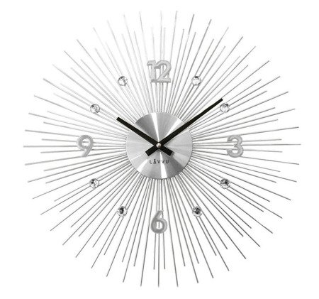 Zegar LAVVU ścienny EFEKTOWNY duży  50 cm LCT1140