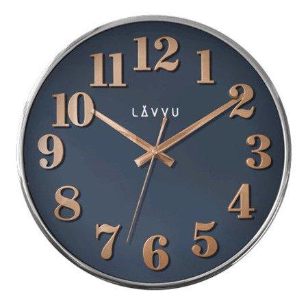 Zegar LAVVU ścienny imitacja drewna 32 cm LCT1164