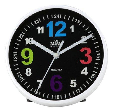 Zegar MPM dziecięcy 14,5 cm nauka godzin edukacyjny kolorowy E01.3685.90