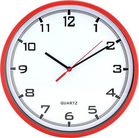 Zegar MPM ścienny 25,5 cm czerwony E01.2478.20.A