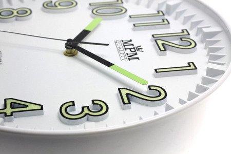 Zegar MPM ścienny MŁODZIEŻOWY nowoczesny 29 cm E01.3231.00