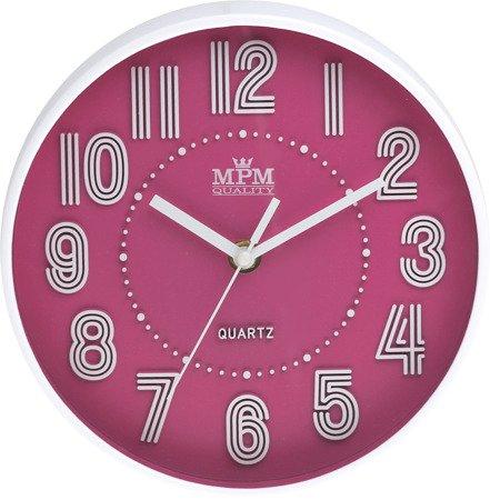 Zegar MPM ścienny MŁODZIEŻOWY nowoczesny CICHY E01.3228.23