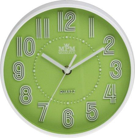 Zegar MPM ścienny MŁODZIEŻOWY nowoczesny CICHY E01.3228.40
