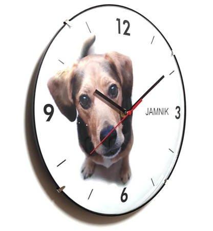 Zegar dla dzieci ścienny PIES ATE2030JM BL SW