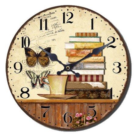 Zegar ścienny JVD RETRO NB8
