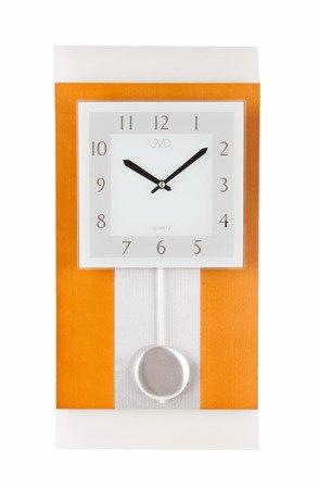 Zegar ścienny JVD Z WAHADŁEM szkło drewno N20111.41