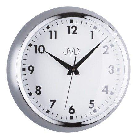 Zegar ścienny JVD aluminium nowoczesny HT077