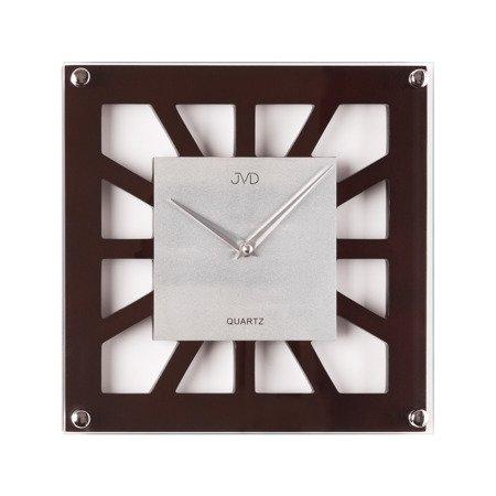 Zegar ścienny JVD drewniany AŻUROWY klasyczny N127.23