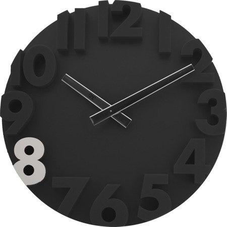 Zegar ścienny JVD nowoczesny 3D tworzywo HC16.5