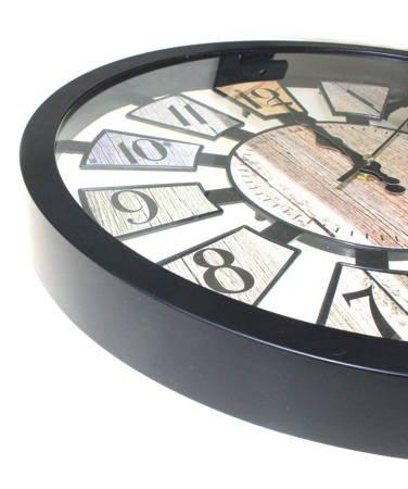 Zegar ścienny LOFT młodzieżowy retro 40 cm SN54521