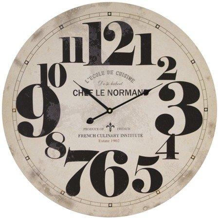 Zegar ścienny MDF retro BARDZO DUŻY  58 cm 118003