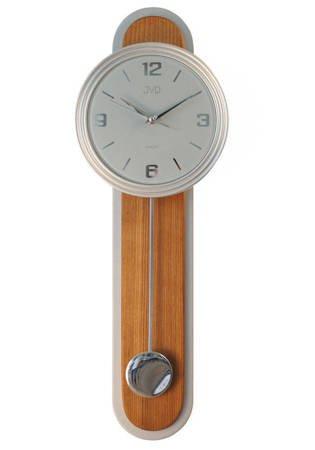 Zegar ścienny Z WAHADŁEM szkło drewno NS17014.11