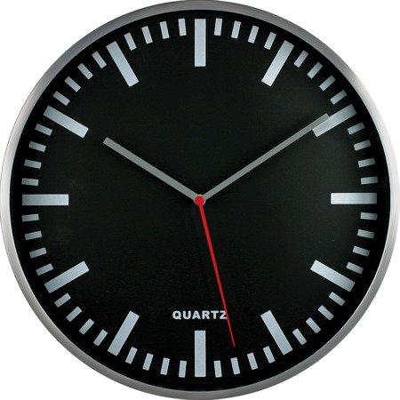 Zegar ścienny aluminium nowoczesny czytelny MP E01.2483.7090